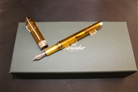 Pineider Avatar UR Amber Fountain Pen