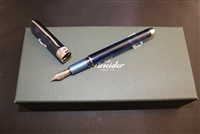 Pineider Avatar UR Sky Blue Fountain Pen