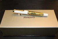 Pelikan M400 Special Edition White Tortoiseshell Fountain Pen