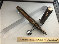 "Armando Simoni Club ""IL GLADIATORE"" Fountain Pen"