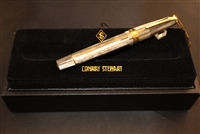 Conway Stewart Model 100 Grey Pearl Spaghetti Fountain Pen