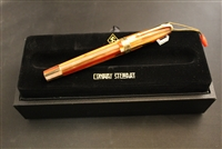 Conway Stewart Model 100 Blood Orange Spaghetti Fountain Pen