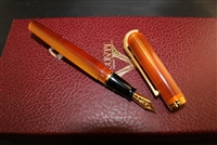 Visconti Pericle Fountain Pen Amber First Edition