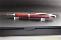 Cherry Wood Vanishing Point Fountain Pen