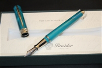 Pineider Avatar UR Fountain Pen Neptune Blue