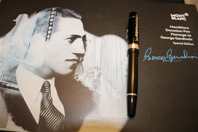 Montblanc Donation Pen George Gershwin Fountain Pen