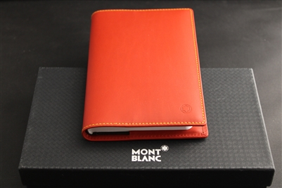 Montblanc Medium Leather Blank Diary