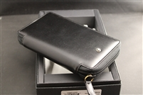 Montblanc Leather 4 pen zipper pouch