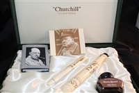 Conway Stewart Churchill Ivory Fountain Pen