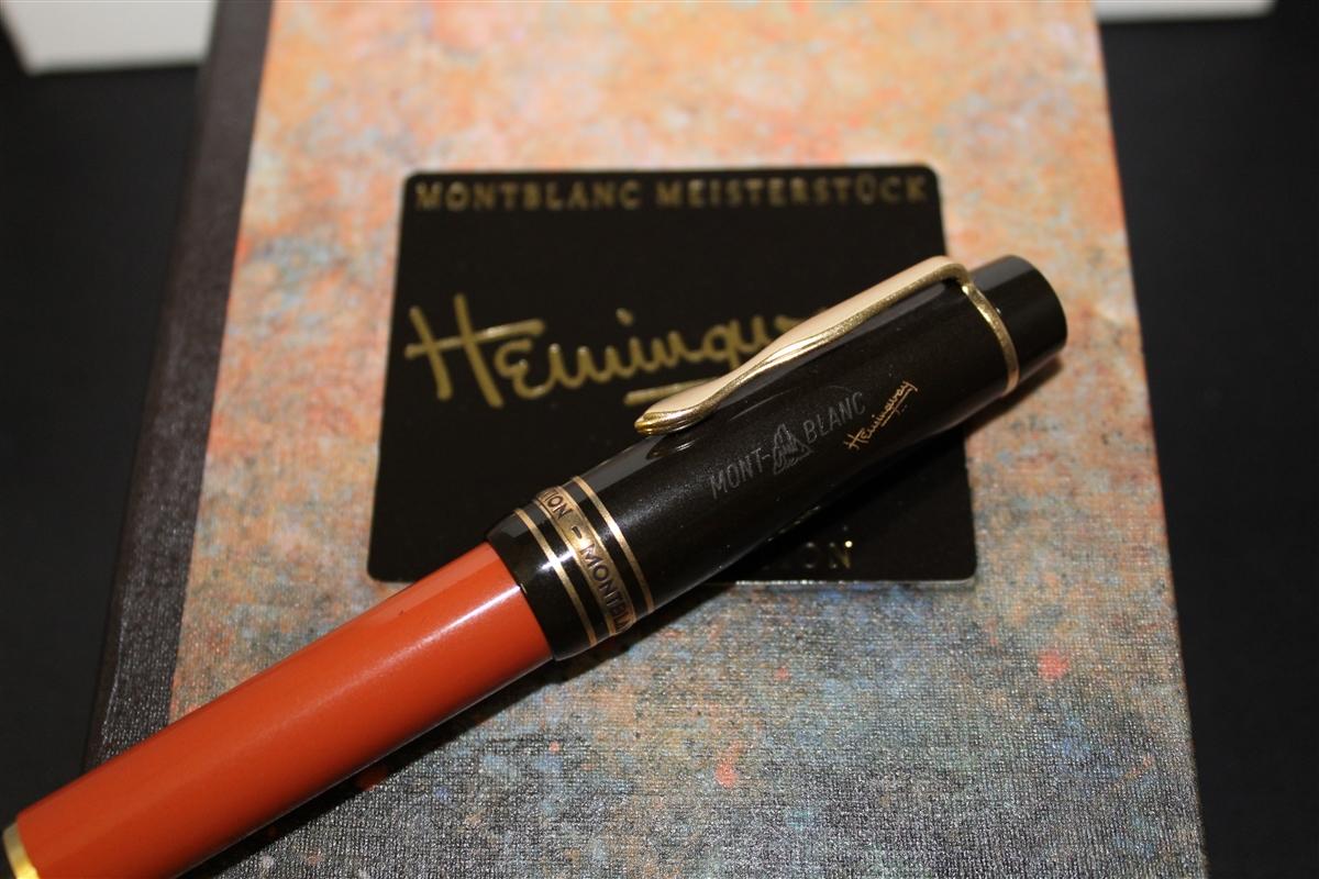 Montblanc ernest hemingway fountain pen for Montblanc house